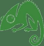 the chameleon logo