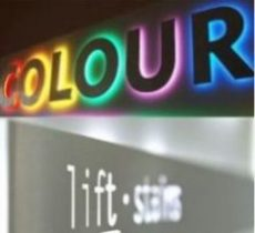 led signage and light boxes