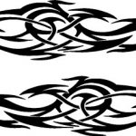 car vinyl graphic tribal designs