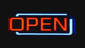 sign-open